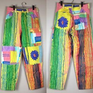 Jams World colorful cotton twill pants size 32